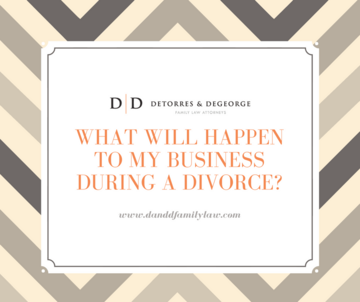 What Will Happen To My Business During A Divorce?