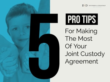 5 Pro Tips For Making The Most Of Your Joint Custody Agreement