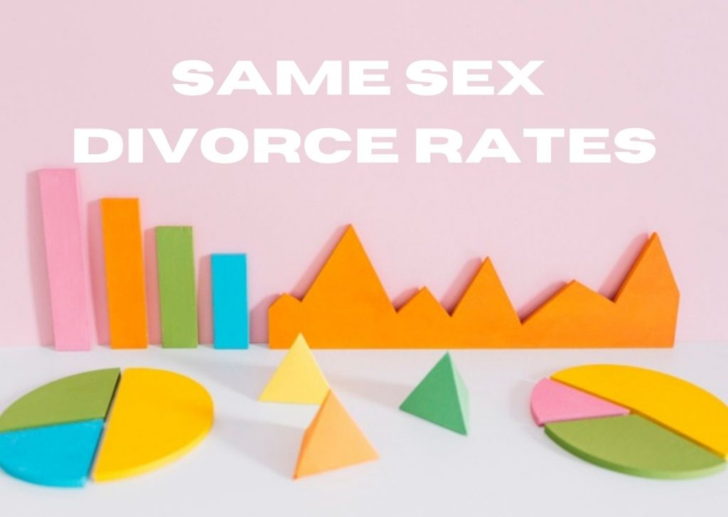 "Colored graph stating ""same sex divorce rates."""