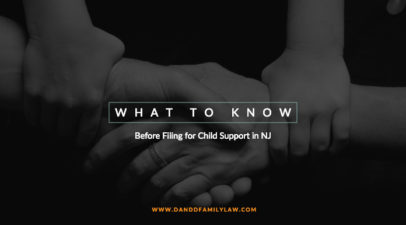 What to Know Before Filing for Child Support in NJ
