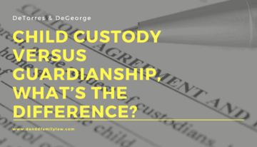 Child Custody Versus Guardianship, What's The Difference?