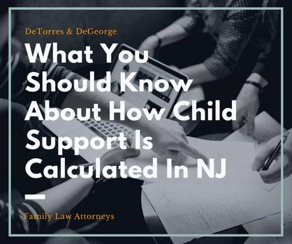 What You Should Know About How Child Support Is Calculated In NJ