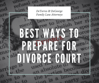 How to best prepare for divorce court