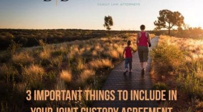 3 Important Things To Include In Your Joint Custody Agreement