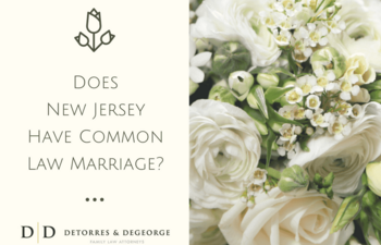 Does New Jersey Have Common Law Marriage?