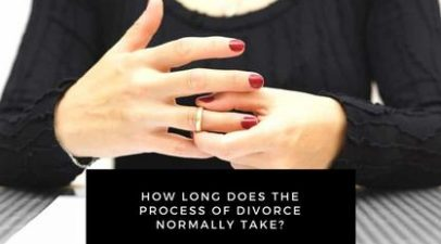 How Long Does The Process Of Divorce Normally Take?