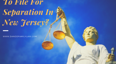 Is It Possible To File For Separation In New Jersey?