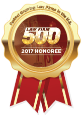 Law Firm 500 2017 Honoree logo