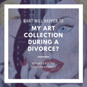 What Will Happen to My Art Collection During a Divorce?