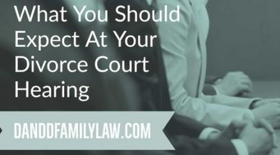What You Should Expect At Your Divorce Court Hearing