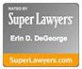 Super Lawyers Eric D. DeGeorge