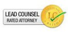 lead counsel rated attorney logo