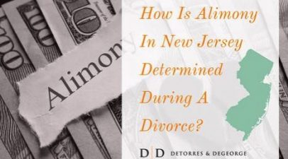 How Is Alimony In New Jersey Determined During A Divorce?