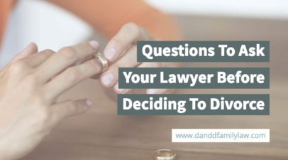 Questions To Ask Your Lawyer Before Deciding To Divorce