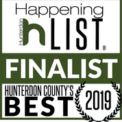 Hunterdon County's best Finalist badge