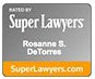 Super Lawyers award badge