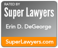 Super Lawyers Erin D. DeGeorge