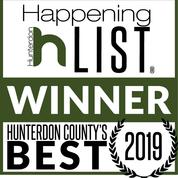 Hunterdon County's best Winner badge