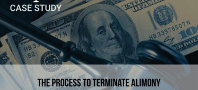 Case Study: The Process to Terminate Alimony