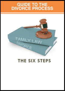 Six steps divorce process guide