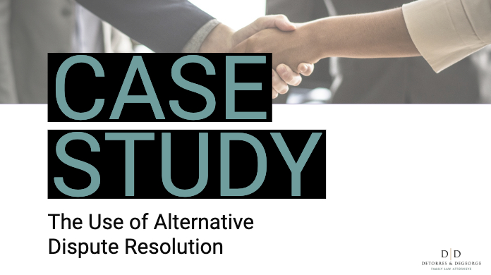Case Study: The Use of Alternative Dispute Resolution
