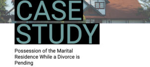 Possession of the Marital Residence While a Divorce is Pending