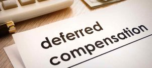 """Writing that says """"deferred compensation."""""""
